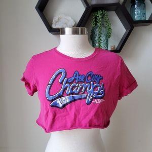 🎉DIY Nike crop tshirt large